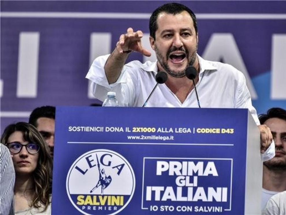La Fiscalía de la Audiencia Nacional investiga la gestión de Salvini con el Open Arms