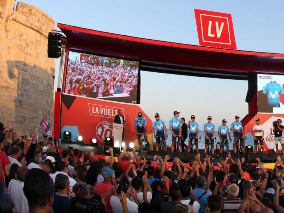 "La Vuelta a España, un ""evento global"" que convence a marcas y países"