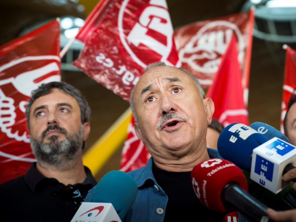 """Álvarez pide a Iberia un """"poco más de humildad"""" y culpa a la empresa de la huelga"""