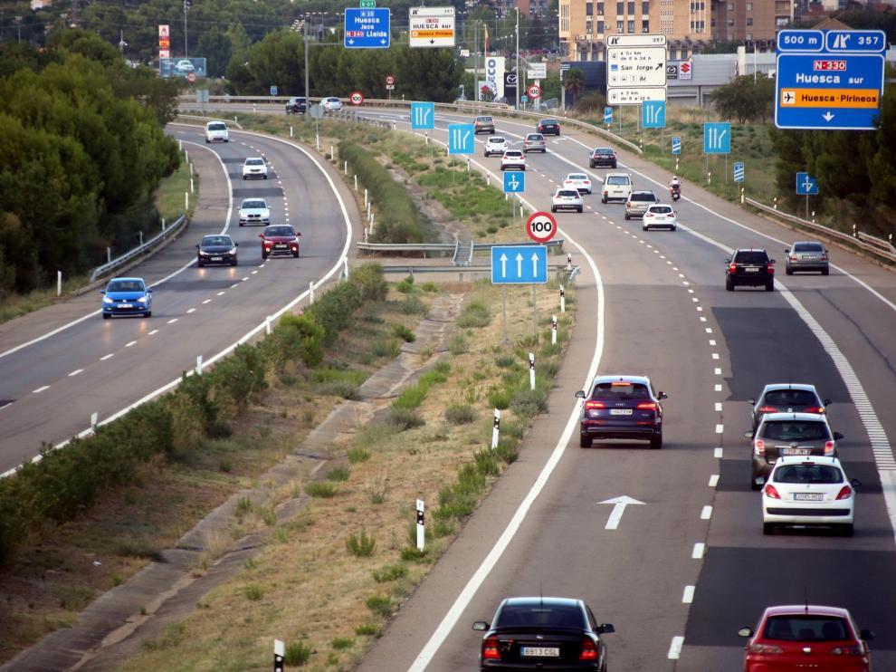 Tráfico fluido en el inicio de la Operación Retorno en la provincia de Huesca