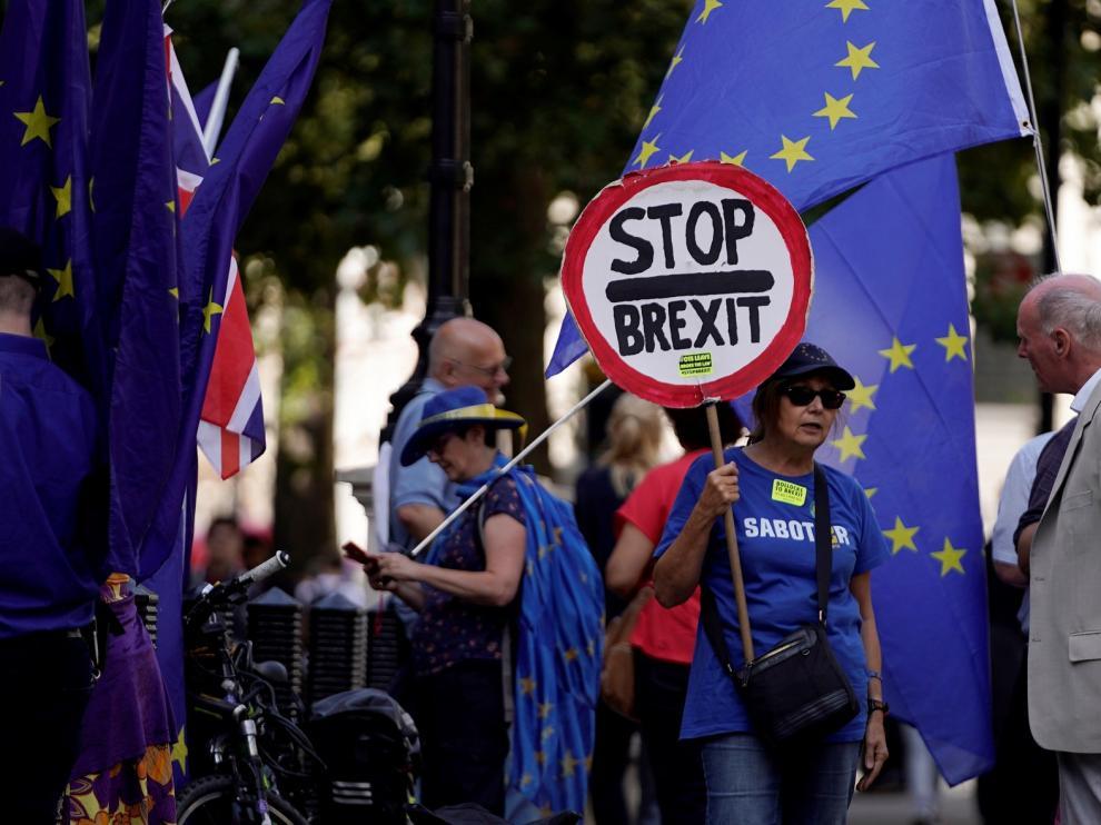 """Johnson logra que el Tribunal no frene su plan de """"brexit"""""""