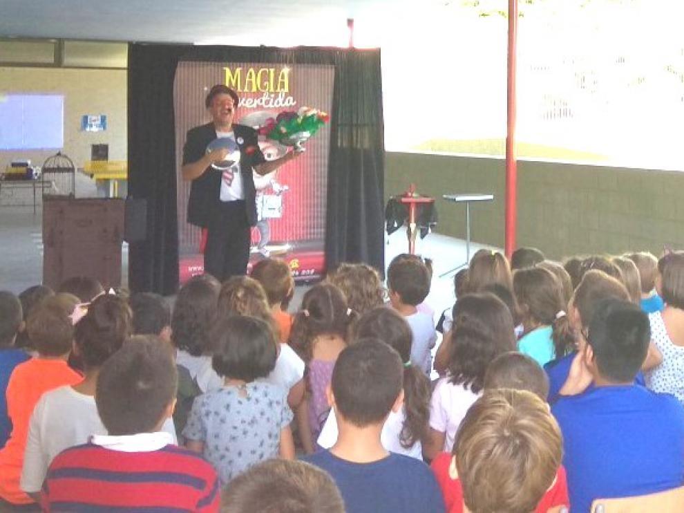 Casi 1.000 niños disfrutaron de la ludoteca de verano de Barbastro