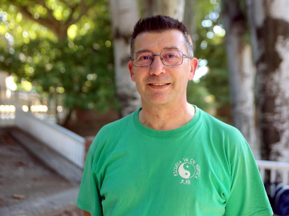 """Andrés Pascual: """"Con el Tai-Chí tienes muchos beneficios, pero no cura enfermedades"""""""