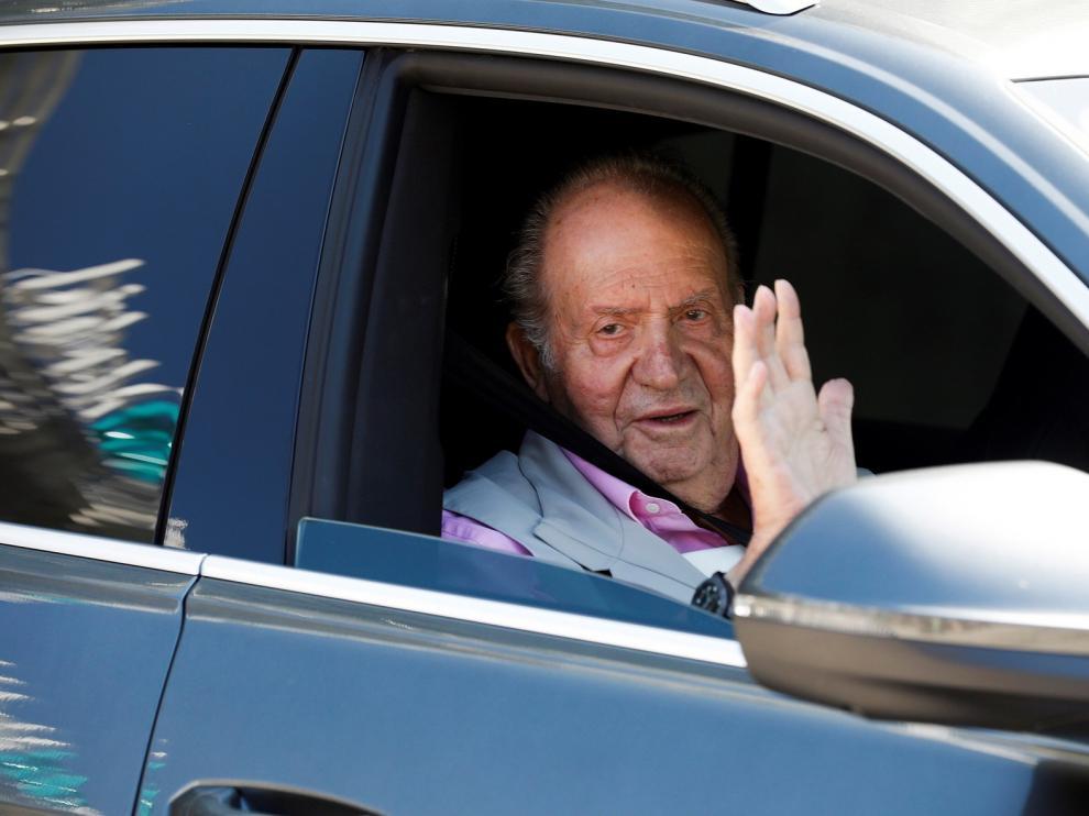 """El Rey Juan Carlos, tras salir del hospital: """"Estoy fenomenal, con cañerías y tuberías nuevas"""""""