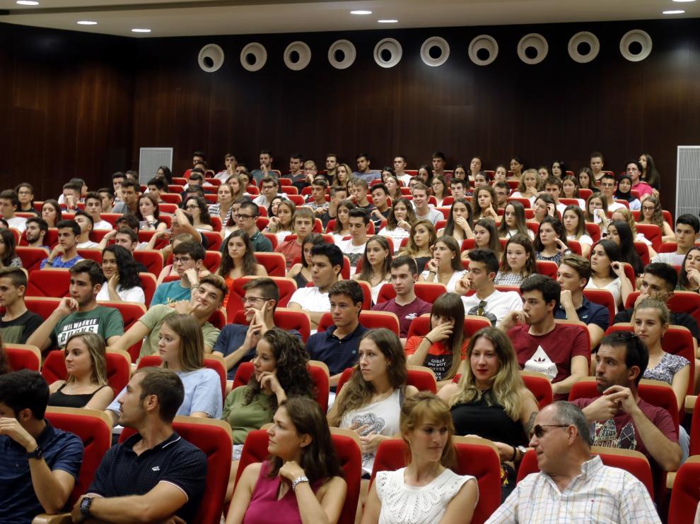 El Campus oscense recibirá a los nuevos alumnos el día 16