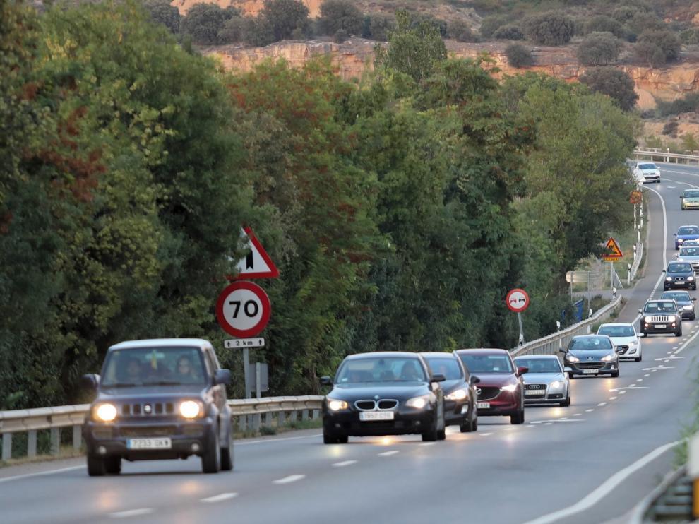 Tráfico intenso pero sin retenciones en la jornada de retorno vacacional