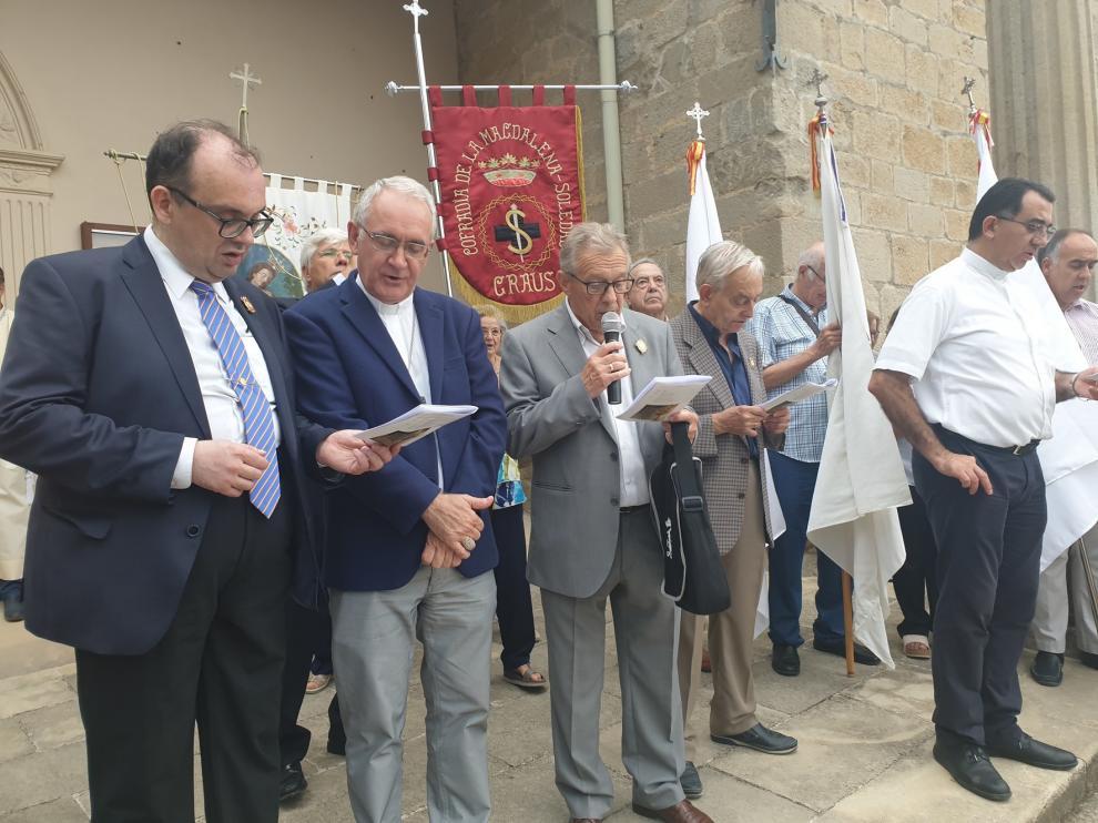 Los grupos de oración nocturna de Aragón se reúnen en Graus
