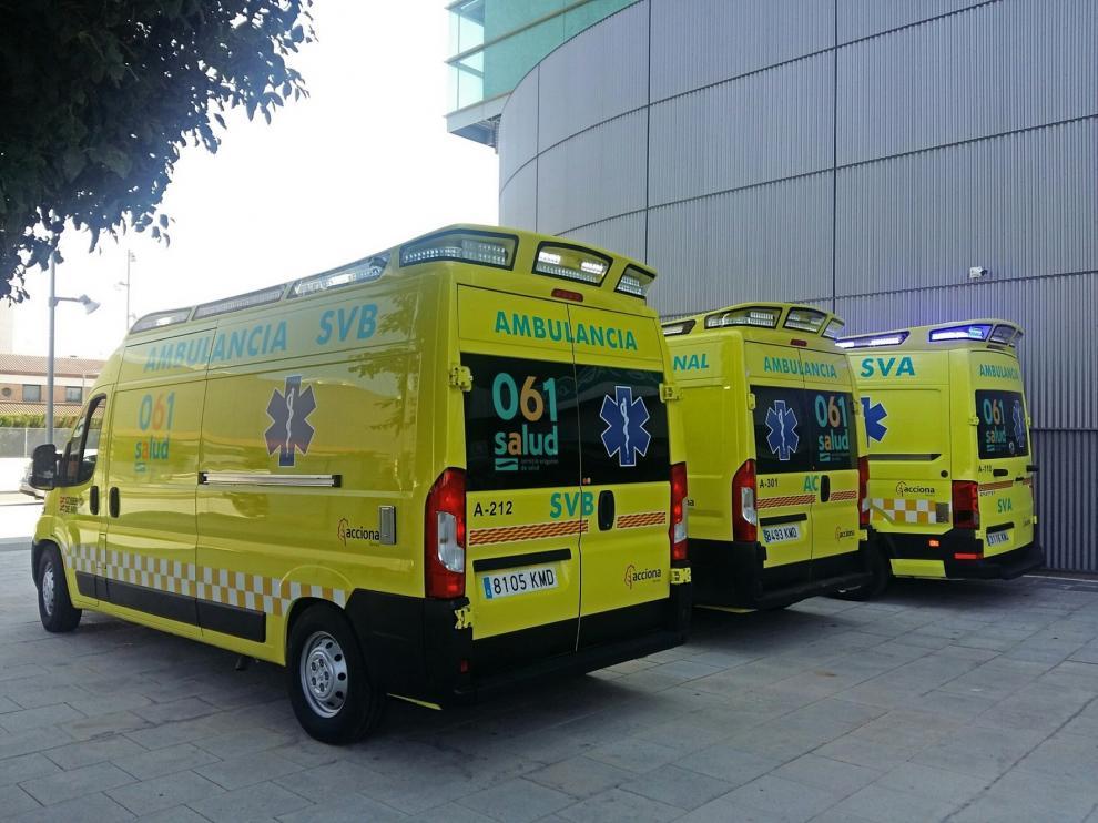Denuncian las carencias de personal en el transporte sanitario en la provincia de Huesca