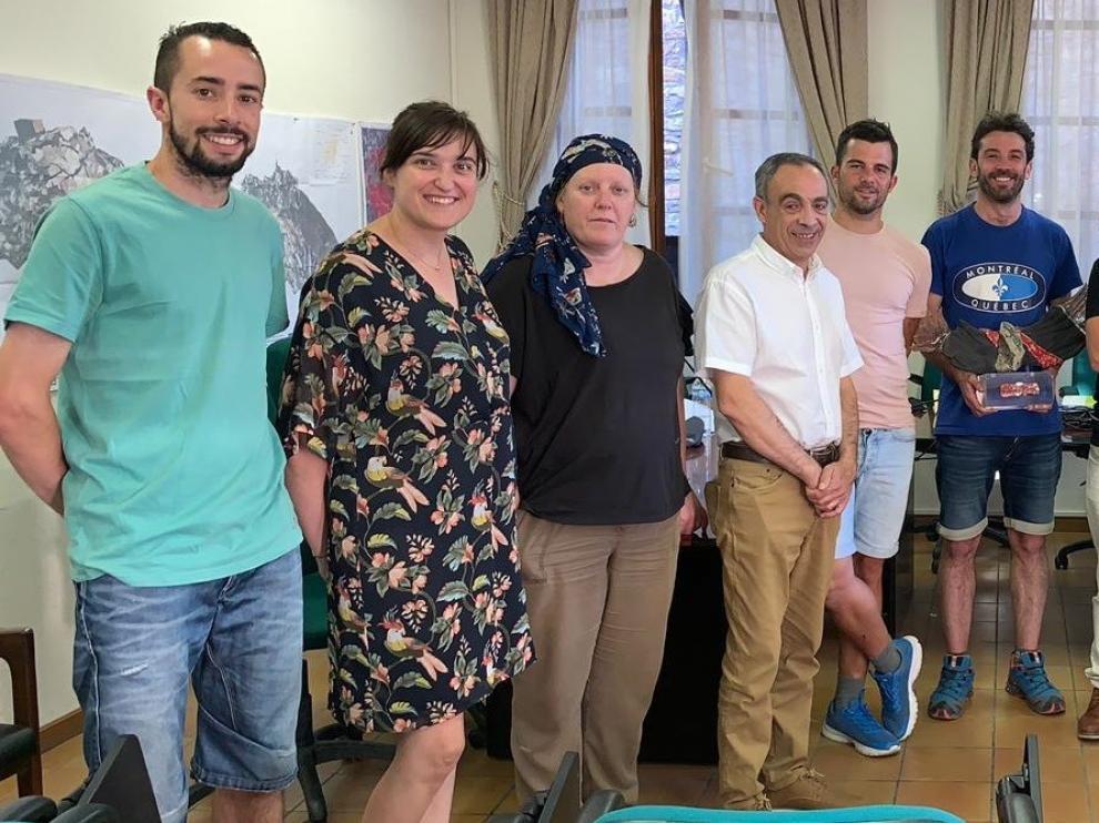 El Ayuntamiento de Aínsa y FCQ renuevan el acuerdo de custodia del territorio