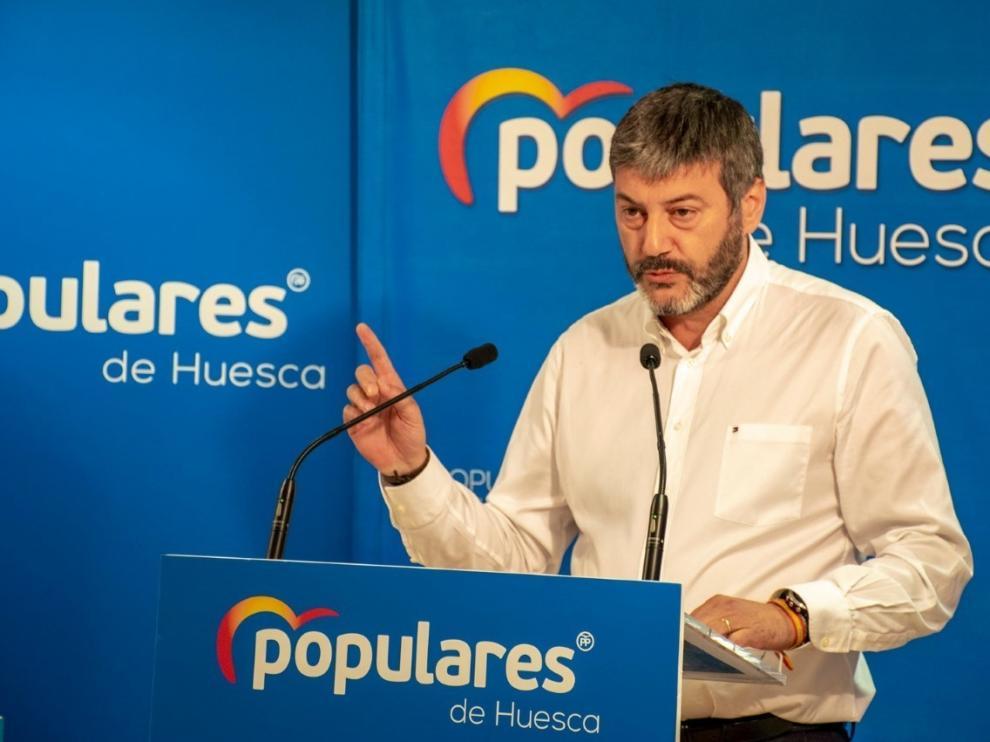El PP lamenta la exclusión de Huesca en el pacto entre comunidades
