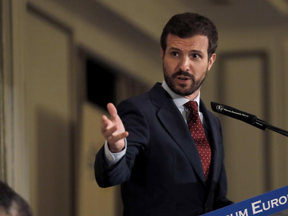 """Casado avisa que no permitirá que le culpen de lo sucedido en el caso Púnica """"hace décadas"""""""