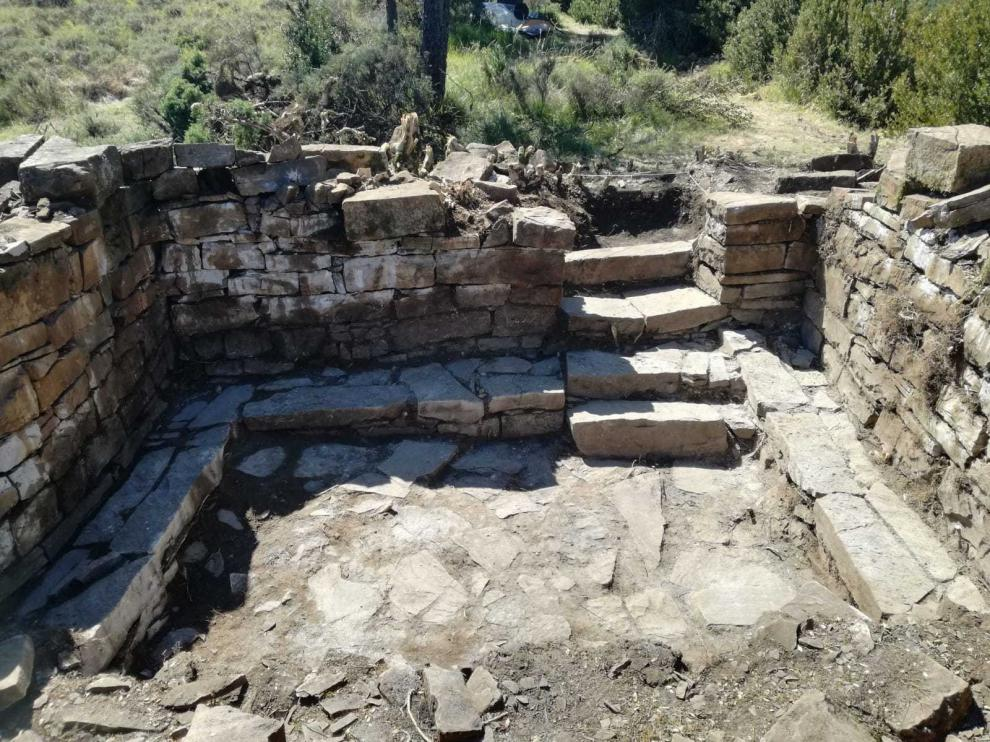 Descubren una iglesia prerrománica en Jacetania