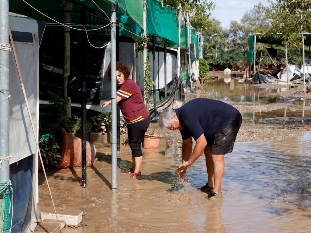 Muere un hombre en Almería a causa de las lluvias torrenciales