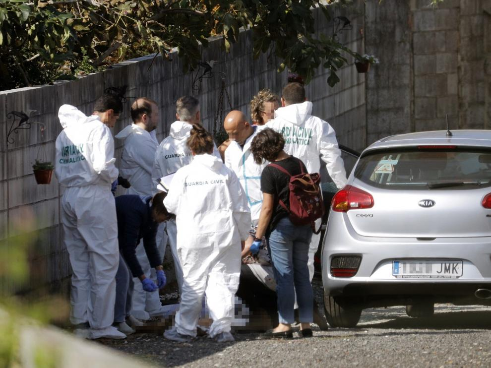 Detenido por matar a su exmujer, a su exsuegra y excuñada en Pontevedra