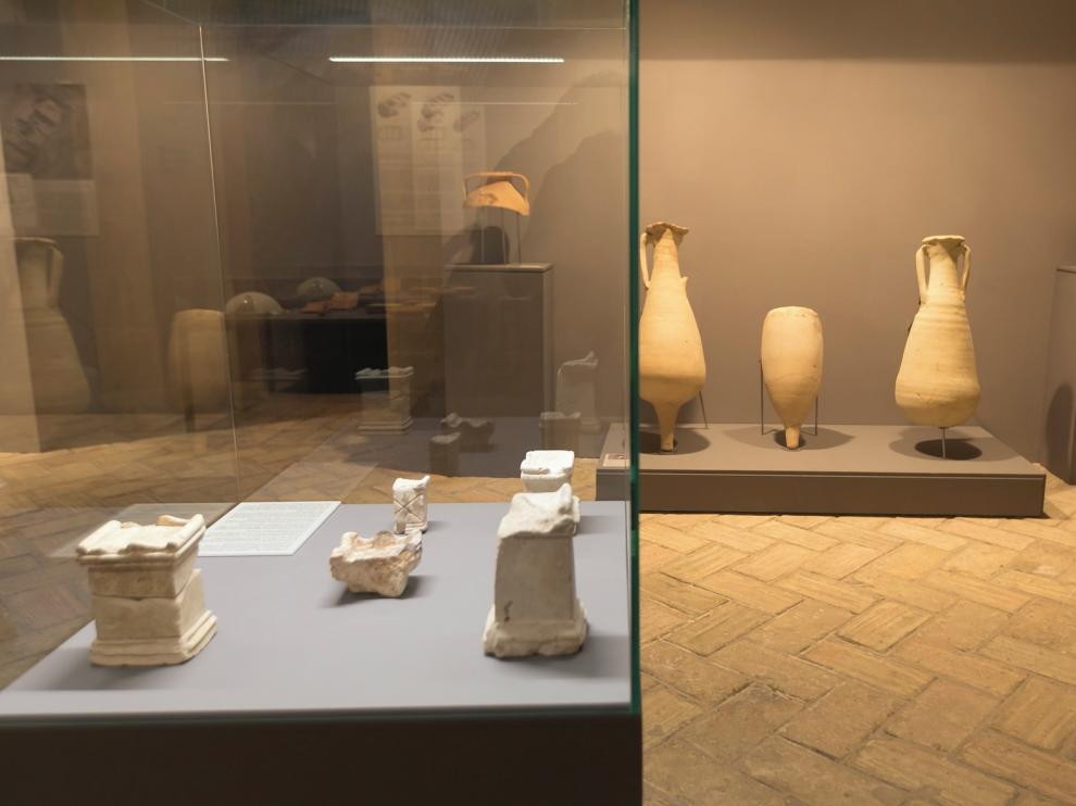 La exposición de Labitolosa del Museo de Huesca, hasta el 5 de enero de 2020