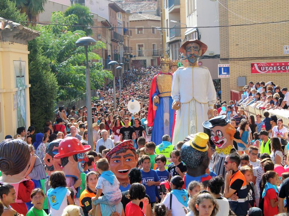 """El """"codetazo"""" da este miércoles la salida a las fiestas de San Mateo en Monzón"""