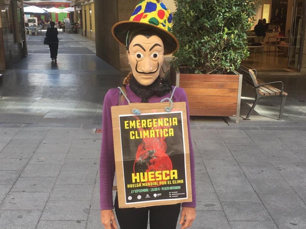 Huesca se prepara para la huelga mundial climática de este viernes