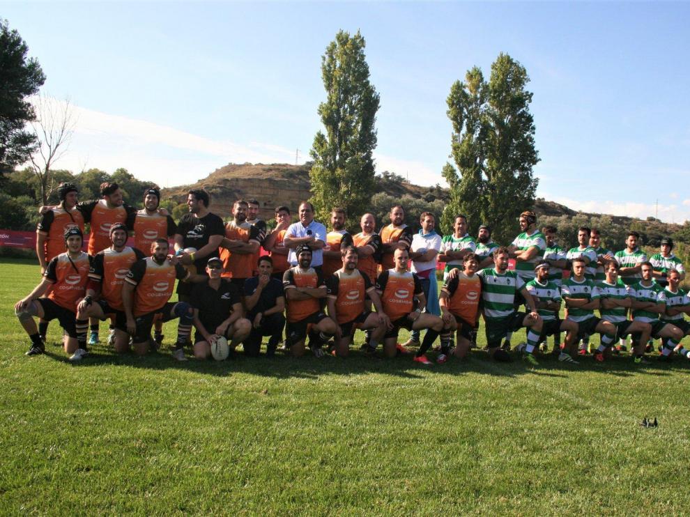 El I Torneo San Mateo de Monzón, un triangular con estreno de campo