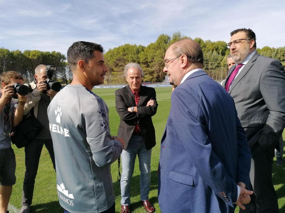 """Petón: """"Es el mejor arranque del Huesca en su historia en la Liga de Fútbol Profesional"""""""