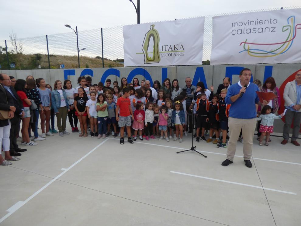Los Escolapios de Barbastro estrenan instalaciones deportivas