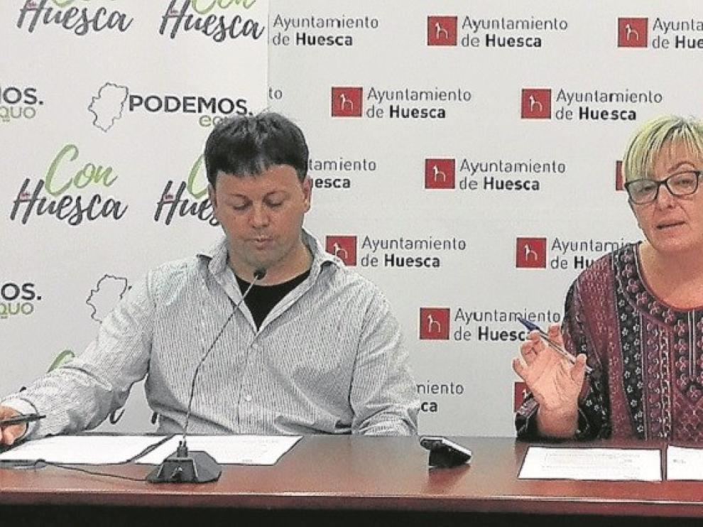 Con Huesca pedirá en el pleno de este jueves instar a la DGA a regular la vivienda vacía para fomentar el alquiler