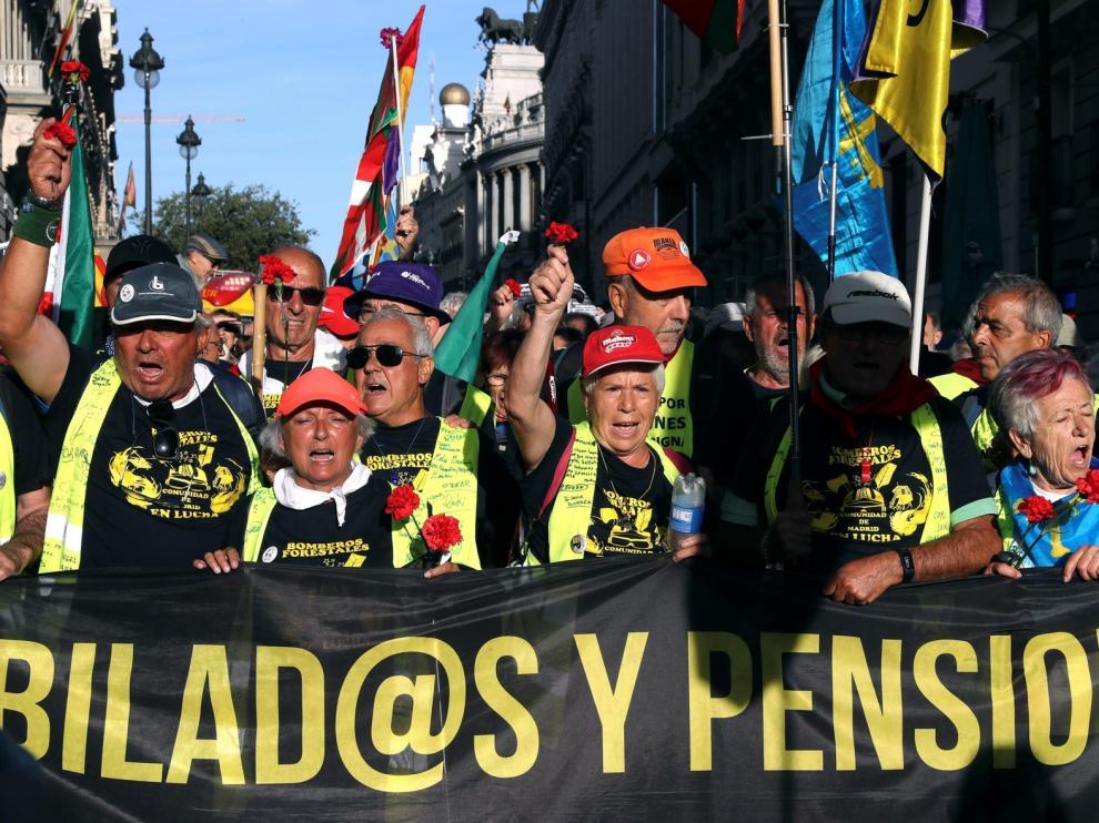 Los pensionistas van a ganar casi un punto de poder adquisitivo