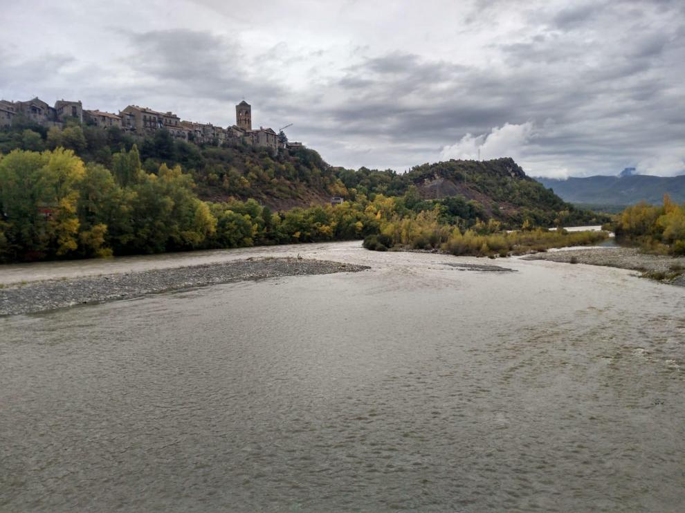 La lluvia deja más de 150 litros por metro cuadrado en Bielsa