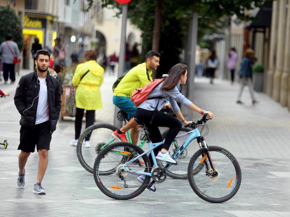 Huesca en Bici insta a adaptar las infraestructuras y el sistema de movilidad a la nueva situación