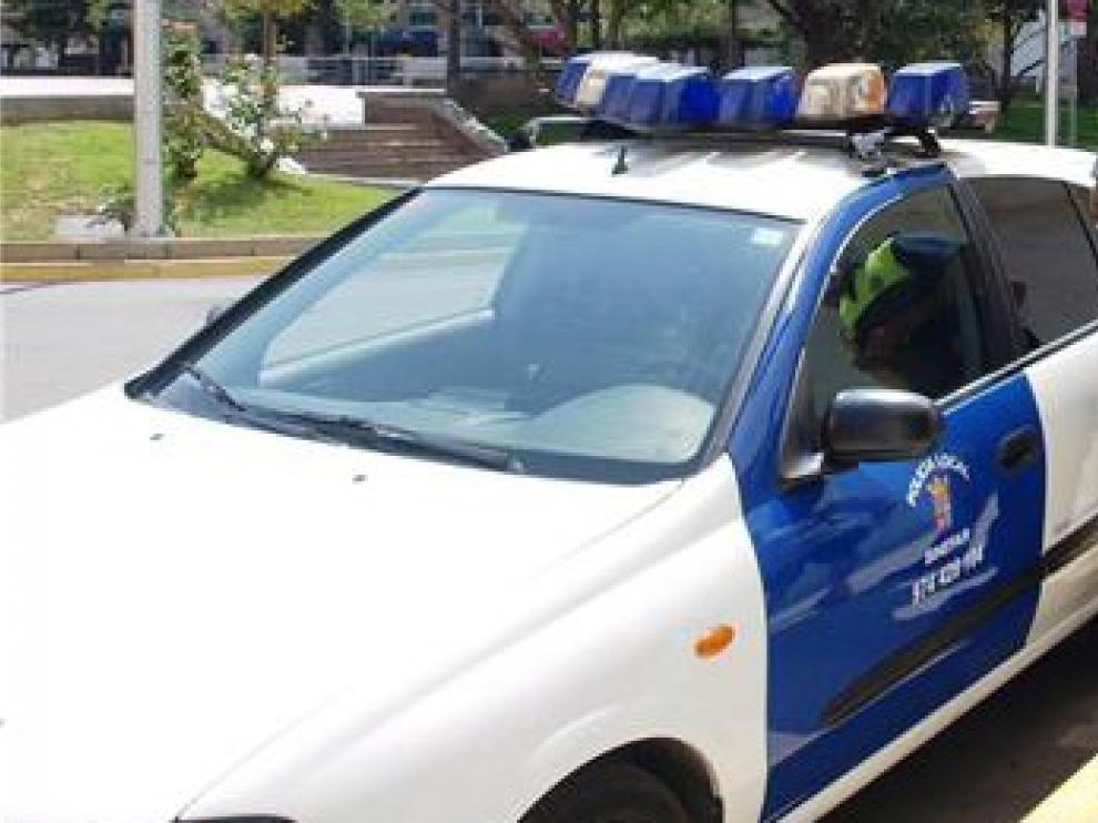 Detenido en Binéfar por conducir sin permiso