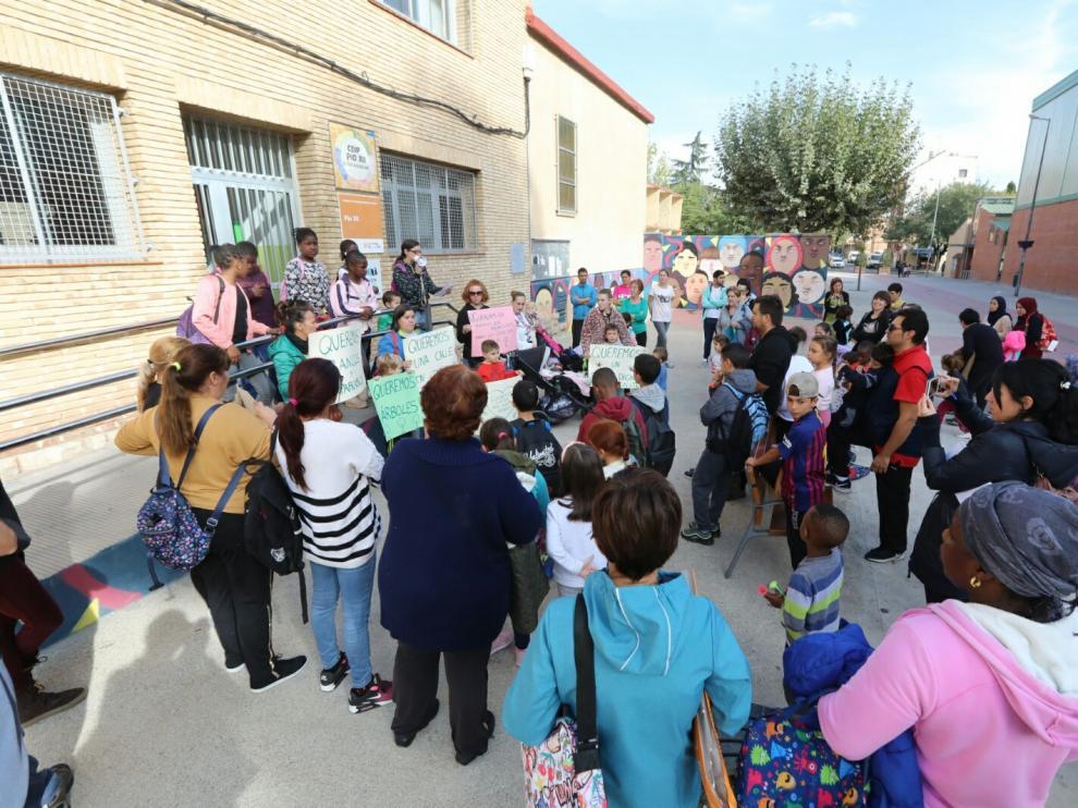 El colegio Pío XII de Huesca reclama al Consistorio varias mejoras