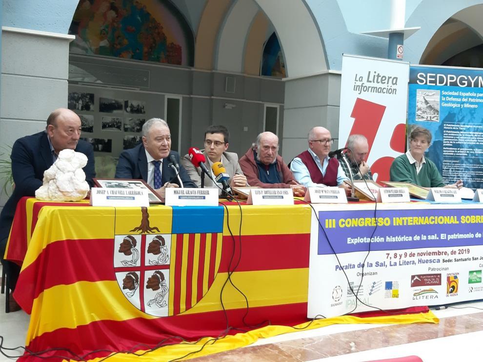 Peralta inaugura su III Congreso Internacional sobre la sal