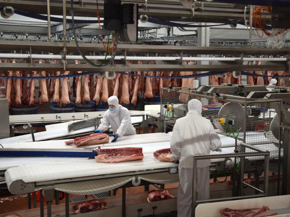 Litera Meat consolida una plantilla de 800 trabajadores repartidos en diferentes áreas