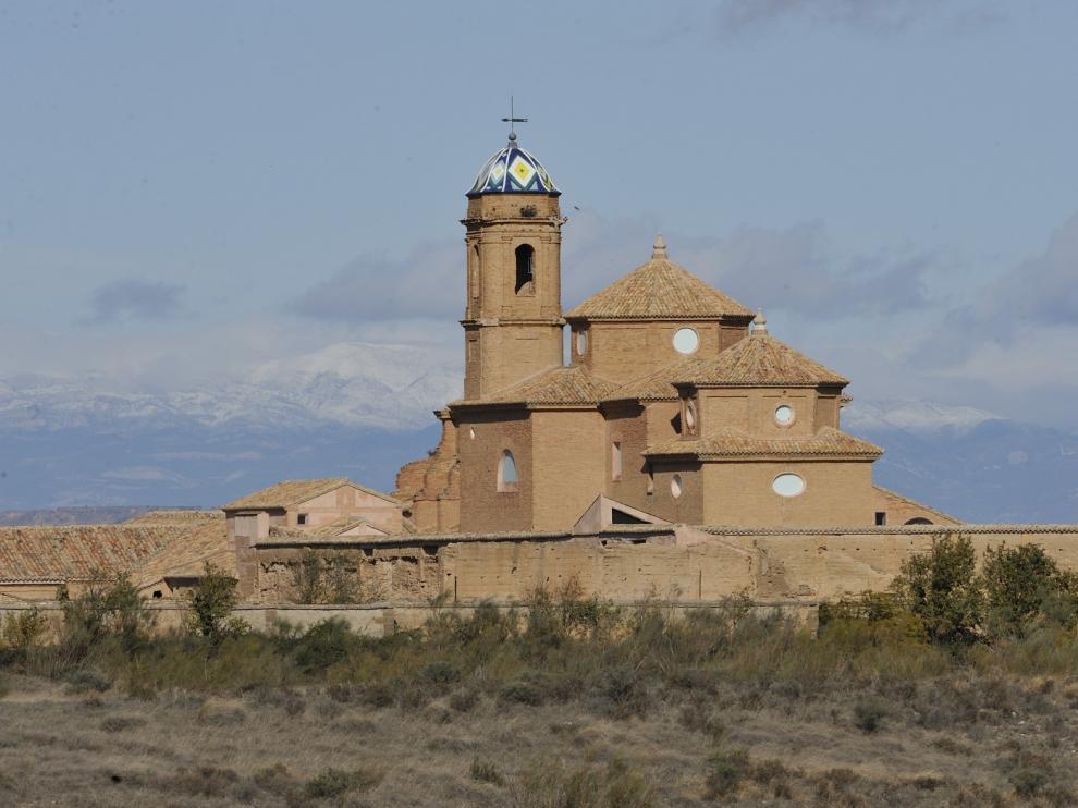 El renacer de la Cartuja de los Monegros en la provincia de Huesca