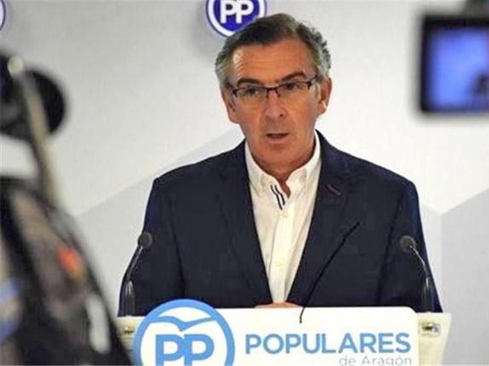 Beamonte insta al PSOE a que no pacte con independentistas