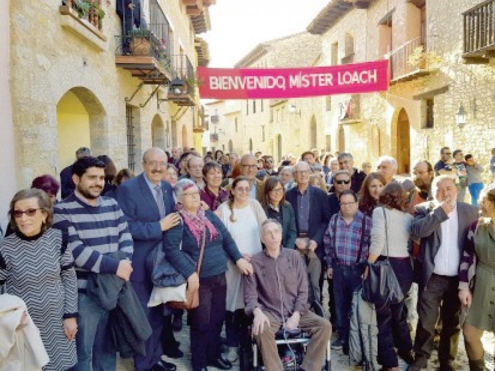 """Ken Loach vuelve a Mirambel, escenario de """"Tierra y libertad"""""""