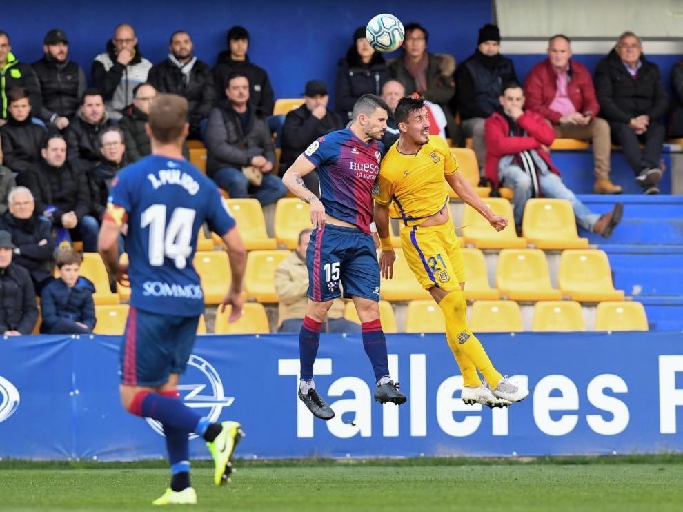 La solidez, base del éxito del Huesca de Míchel