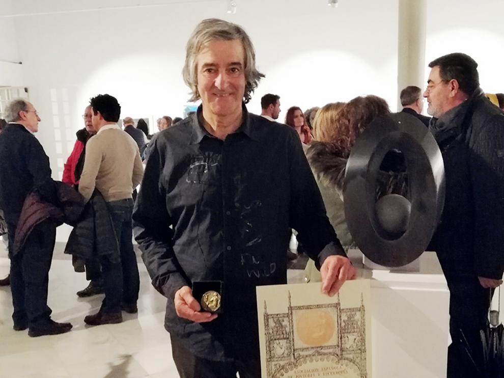 Pedro Ania, premiado en el Salón de Otoño de Madrid