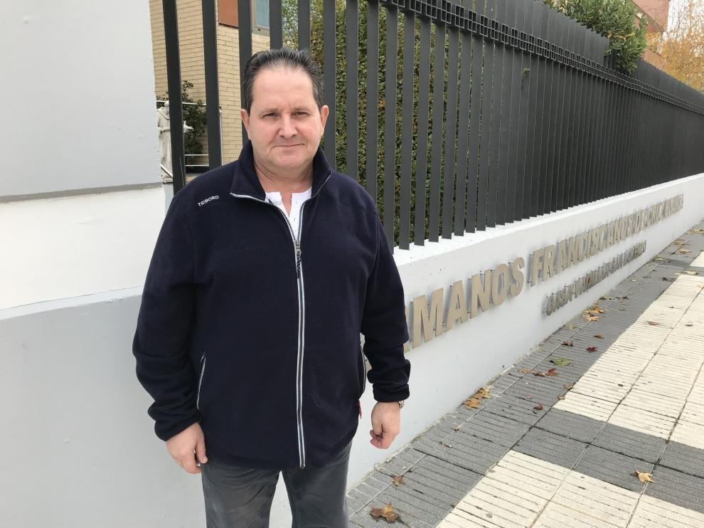 """Andrés Inarejos Ruiz: """"La sociedad no está concienciada todavía sobre lo que es el Sida"""""""