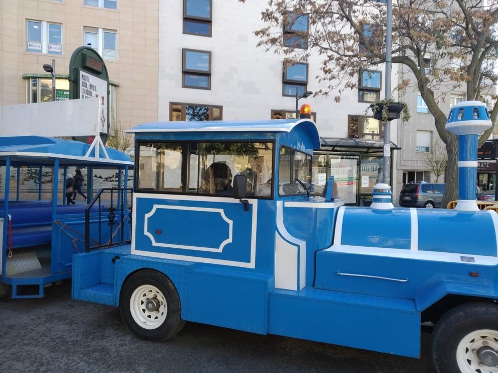 El tren de la Navidad recorrerá Huesca del 5 de diciembre al 6 de enero