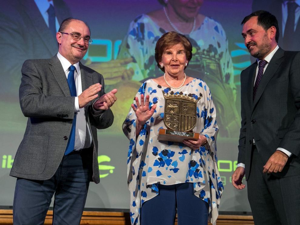 Premio a Pilar de Yarza como Empresaria de Aragón 2019