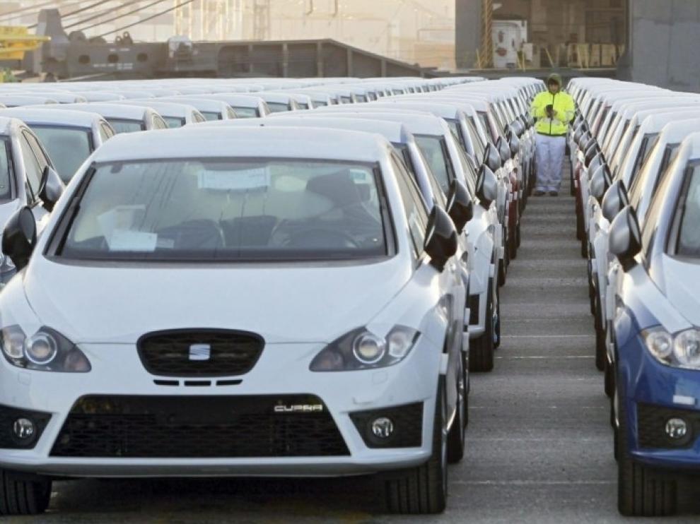 Las matriculaciones de coches caen un 7 por ciento en Aragón en noviembre