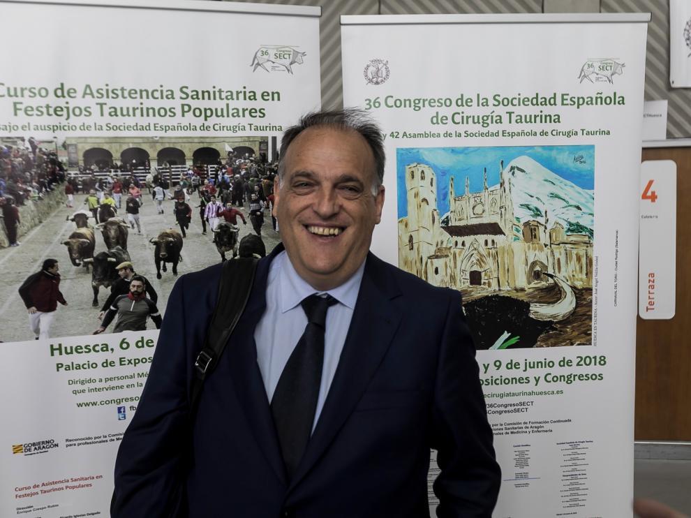 Javier Tebas dimite como presidente de LaLiga