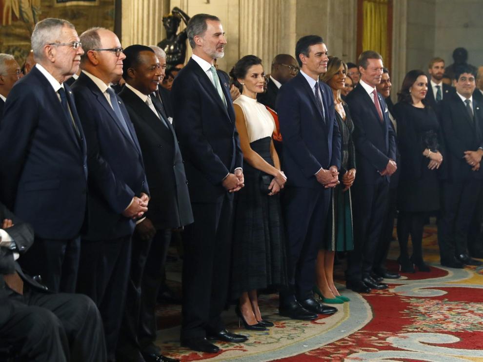 "Felipe VI pide ""liderazgo"" para luchar contra la crisis climática"