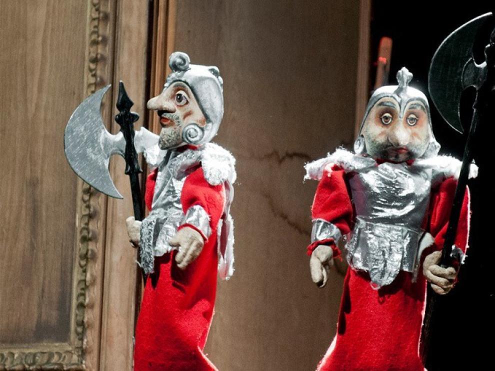 Los titiriteros de Binéfar alegrarán las navidades de los zaragozanos