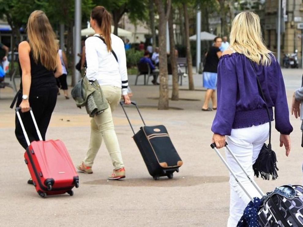 La llegada a España de turistas crece un 1,1 % hasta octubre