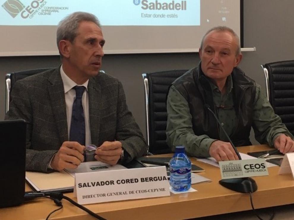 La confianza empresarial en la provincia de Huesca vuelve a situarse en negativo