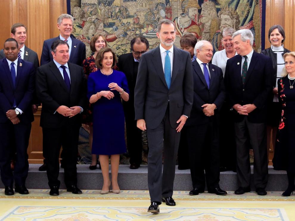 El rey Felipe VI se reúne con mandatarios extranjeros