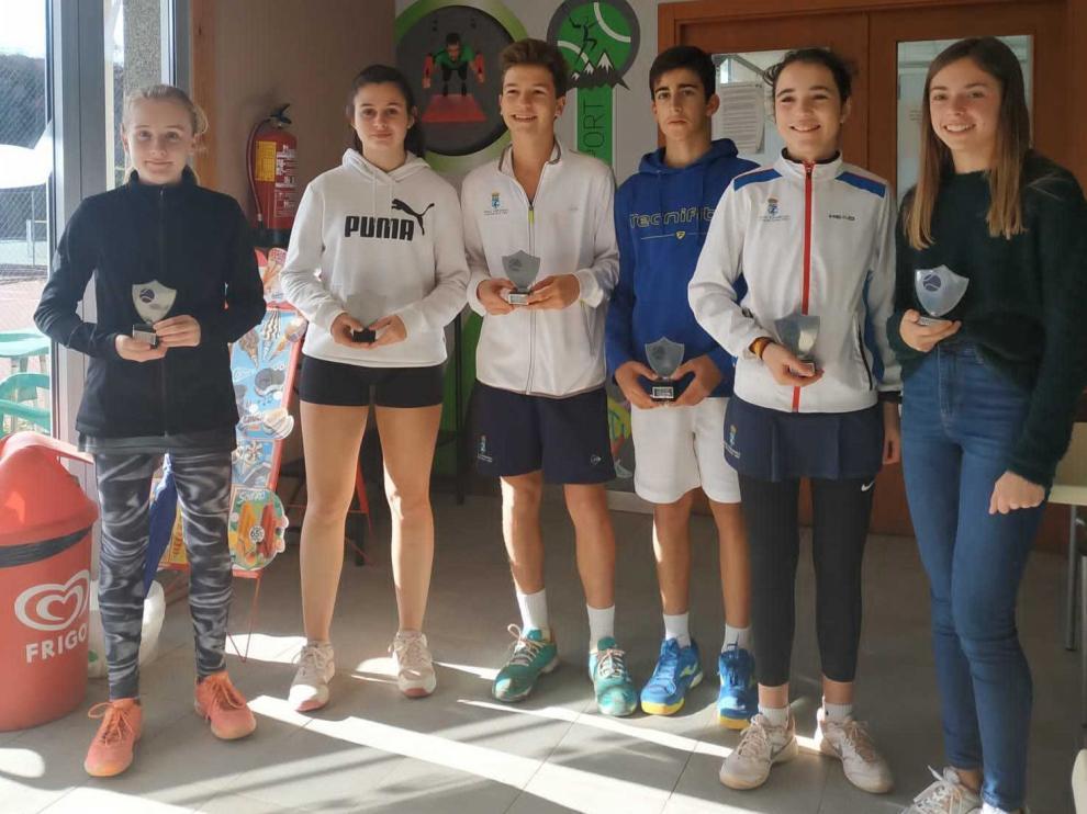 Sancho y Araguás ganan el Open de Otoño Indoor