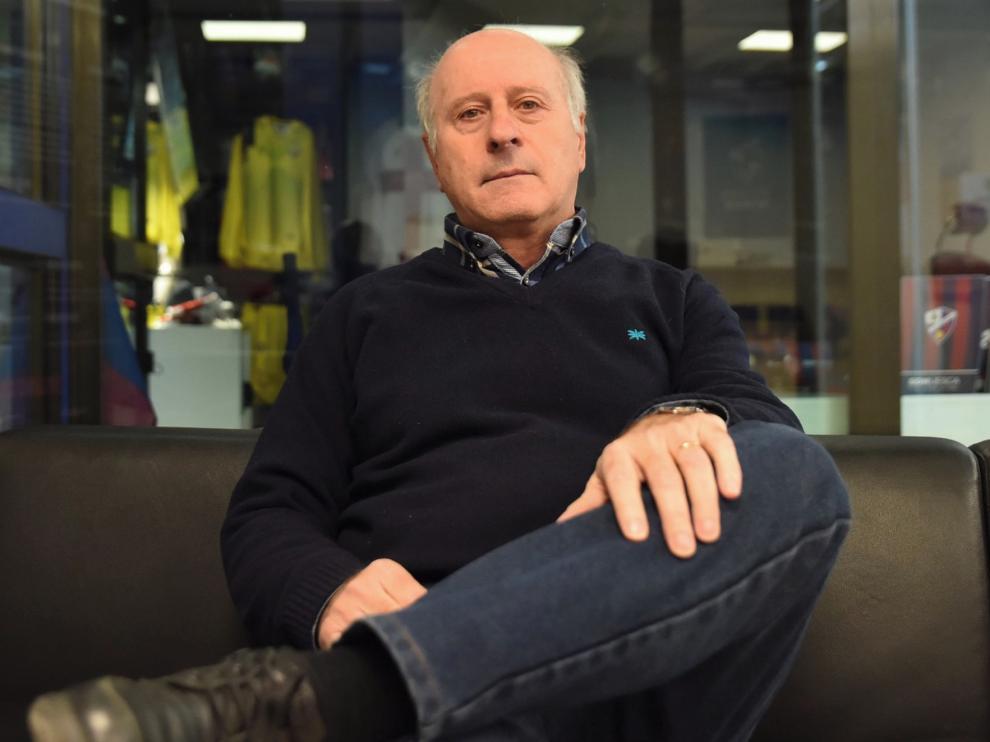 """Pedro Ibaibarriaga, ex jugador del Huesca: """"Hay una muy buena plantilla"""""""