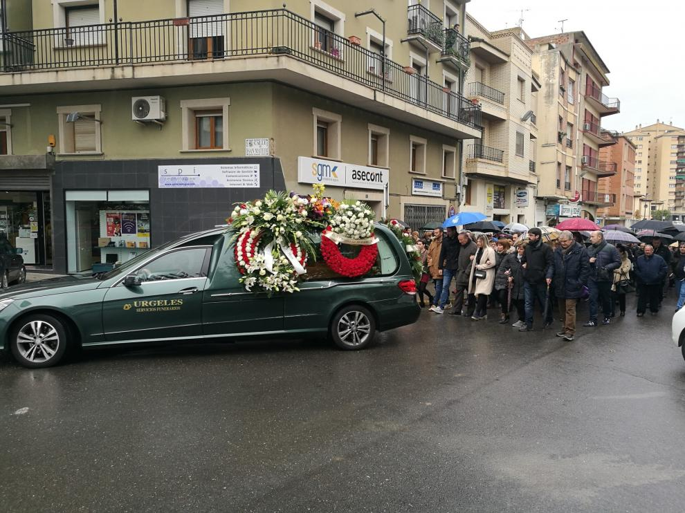 Multitudinario adiós a Julián Alamán, que deja una huella imborrable